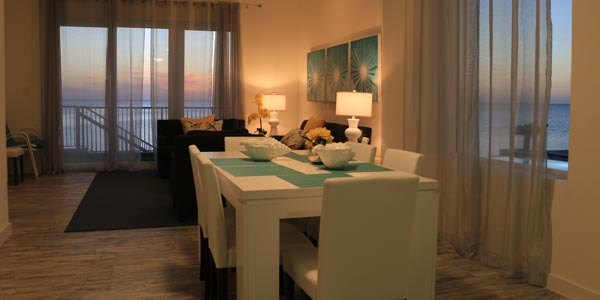 Dining Room for Condominum in South Padre Island