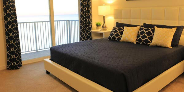 Master Bedroom in South Padre Condo
