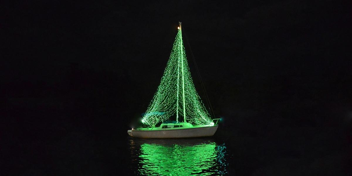The Lighted Boat Parade | Las Velas Village
